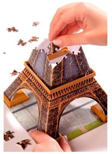 Ravensburger Eyfel Kulesi 3D Puzzle 125562 Renkli